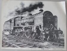 A.L.Hammonds 'SIGNED' Royal Pioneer Corps Patriot No.45506 art print steam loco