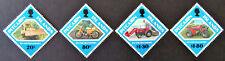1991 Pitcairn Islands Stamps - Island Transport - Set of 4 MNH
