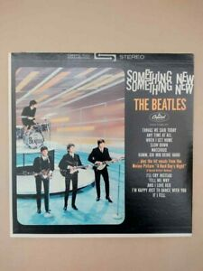 The Beatles ‎– Something New ST-8-2108, Club Edition, LONGINES RECORD CLUB PRINT