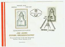 Österreich FDC Ersttagsbrief 1967 Grundkataster Mi.Nr.1250
