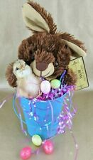 G23 Taxidermy Chick Easter Basket/Bucket with Chocolate Scented bunny & eggs