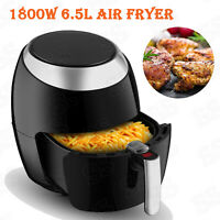 1800W Electric Air Fryer 6.5L Digital Touch Screen LCD Timer Temperature Control