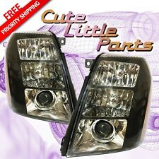 Performance Black Headlight Unit Pair for 2007 2008 2009 2010 CADILLAC ESCALADE