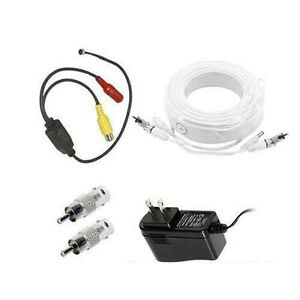 Samsung Security System Microphone Kit 150ft length compatible w/SDE,SDS, SDH
