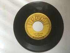 CARL PERKINS 45 rpm 1956 SUN Records 234 BLUE SUEDE SHOES / Honey Don't!