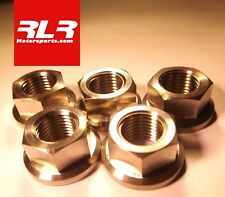 Suzuki GSXR1000 K5-L16  titanium flange head nuts  M10x1.25mm sprocket nut kit