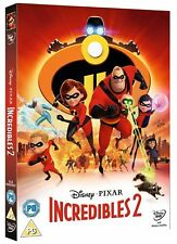 Incredibles 2 DVD Brand New & Sealed Sameday Free Dispatch  Royal Mail 1st Class