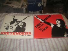 The Pretenders-(viva el amor)-1 Poster Flat-2 Sided-12X12 Inches-Nmint!