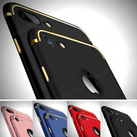Slim Luxury Ultra-Thin Hard Case Cover + Screen Protector for iPhone 6S 7 7 Plus