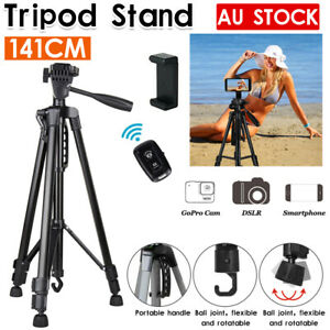 Professional Camera Tripod Stand Mount For DSLR GoPro iPhone Samsung Travel