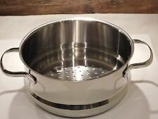 Silit Dämpfeinsatz Toskana 20 cm  passend für 20 cm Bratentopf und Kochtopf