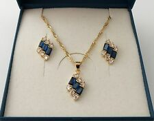 Unbranded Yellow Gold Plated CZ Costume Jewellery Sets