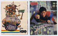 ORIGINAL Vintage October 1980 HBO Magazine Superman Muppet Movie