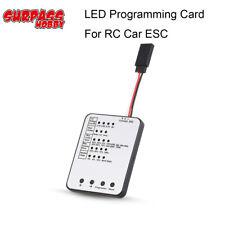 Tarjeta de programación para el coche de RC ESC sin Escobillas Regulador electrónico de la velocidad