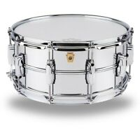 Ludwig Supraphonic Snare Drum Chrome, 14 x 6.5 in. 194744171857 OB