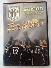 DVD ANGERS SCO SAISON 2006-2007 // TOUS UNIS POUR LA LIGUE 2
