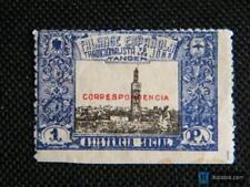 Sello Local Guerra Civil Falange Española Tanger nº 20*
