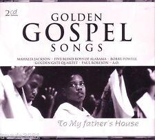 Golden Gospel Songs 2 CD Box Classic 60s 70s Platters Mahalia Jackson Rare OOP