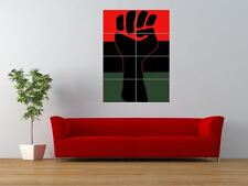 Propaganda Black Power African American Giant Wall Art Poster Print