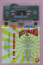 MC DISCOMANIA MIX 6 compilation THE DOG XL CAPPELLA ZOONKA NINA cd lp dvd vhs