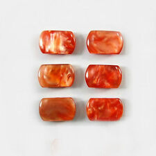 Pearl red Guitar tuner Acrylic buttons 6pc - P1R