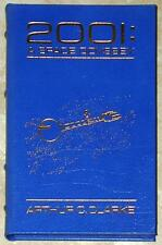2001: A SPACE ODYSSEY ~ ARTHUR C. CLARKE ~ EASTON ~ LEATHER BOUND GIFT ED AZURE