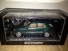 MINICHAMPS 2005 MERCEDES ML 500 Green 1:43 (Almost Sold Out)