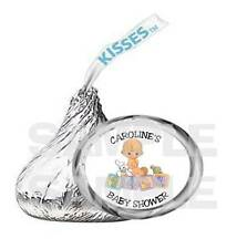 Personalized PRECIOUS MOMENTS Babies BABY SHOWER  kiss labels PARTY FAVOR