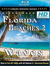 RELAX - HD FLORIDA BEACHES 2 BLU-RAY Waves relaxing Nature video w/ ocean sounds