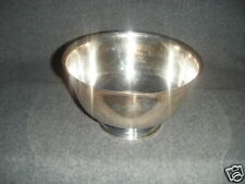 Wm ROGERS SILVER FOOTED BOWL PAUL REVERE REPRODUCTIONS
