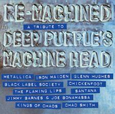 Deep Purple Tribute - Re-Machined METALLICA IRON MAIDEN SANTANA CD NEU OVP