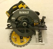 "New Dewalt DCS575B Flexvolt 60 Volt Max 7-1/4"" Brushless Circular Saw W/ Blade"