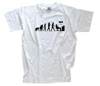 Standard Edition Oeffentlicher Dienst Beamter Evolution T-Shirt S-XXXL neu