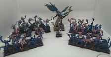 Warhammer Fantasy AoS Tzeentch Daemons Army OOP Metal Fully Pro Painted