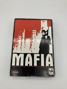 Mafia (2002) Illusion Poster/Map,3 Discs, Manual PC CD-ROM Complete VG Free S&H