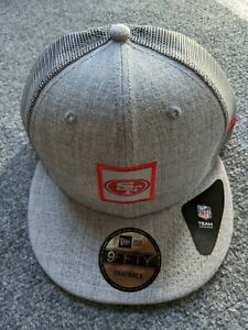 Brand New - Gray - New Era San Francisco 49ers Shanahan Square Trucker snapback
