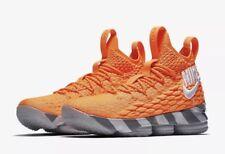 NEW Nike LeBron XV 15 KS2A Orange Box Men's Size 10 AR5125 800 LeBron Watch