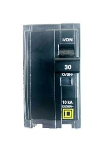Square D QO230 Snap In 2 Pole 30 Amp Circuit Breaker 120/240V Quick Trip Action