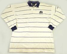Vtg Pringle Shirt S M Scotland Rugby Union Scottish Long Sleeve Crest Polo Rare