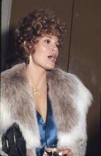 Raquel Welch Candid Photo Vintage Original 35mm Transparency Slide 1970's