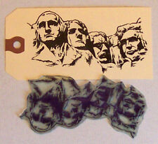 Mount Rushmore rubber stamp by Amazing Arts