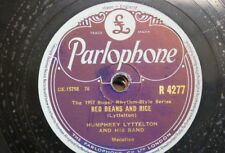 78 rpm HUMPHREY LYTTLETON BAND red beans & rice / baby doll