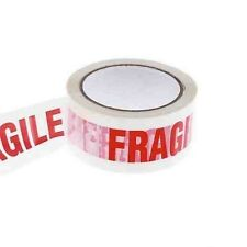 "NEWLow Noise 2 rolls of fragile printed tapes size 2""X 66M"