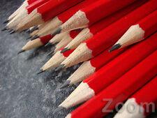 HB Matite Nero in Rosso Legno Barile-Confezione di 12 Disegno Matite Per Scuola Arte