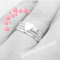 Spinner Ring Solid 925 Sterling Silver Ring Jewelry Handmade All Size DO-354