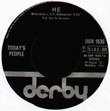 TODAY'S PEOPLE - He / I Didn't Know - Derby