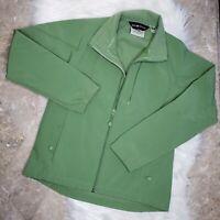 BLACK DIAMOND Women's Small Zip Up Green Soft Shell Stretch Spandex Jacket