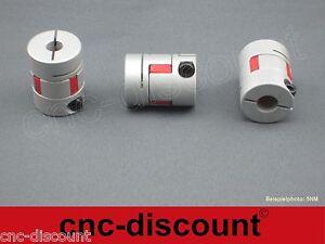8 / 5mm  Wellenkupplung   5NM   /  z.B. CNC Fräse Linearwelle Schrittmotoren 3D