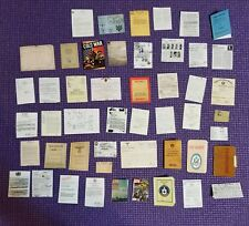 Playscale 1/6 Gi Joe Action Figure Spy War Paperwork Document File Letters WW2