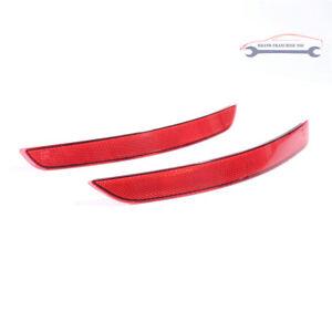 2Pcs Right&Left Side Rear Bumper Bar Reflector Kit For Audi A3 15-16
